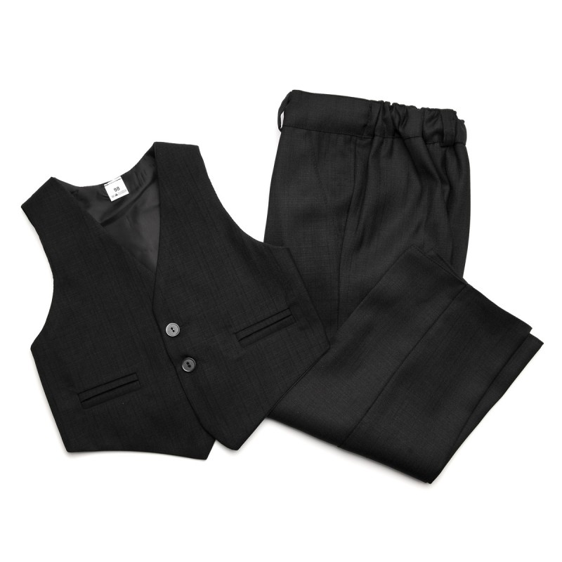 Garnitur chłopięcy: kamizelka i spodnie